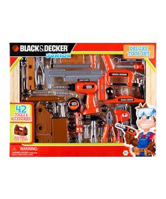 Look at this Black & Decker Deluxe Tool Set on #zulily today!