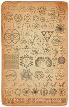 symbole / logo -Sacred geometry of the Universe... I love this idea for a tattoo. Captures my beliefs