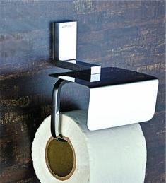 DECOR CARTIER PAPER HOLDER WITH LID #decor #paperholder #bathroomaccessories