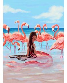 is my newest mermaid Shes. Mermaid Man, Black Mermaid, Cute Mermaid, The Little Mermaid, Vintage Mermaid, Fantasy Mermaids, Real Mermaids, Mermaids And Mermen, Mermaid Artwork