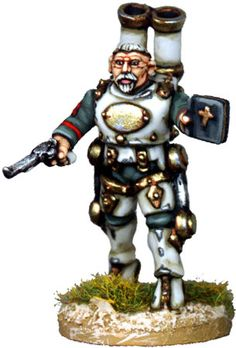 Unreleased Victorian in Steam Powered Armour