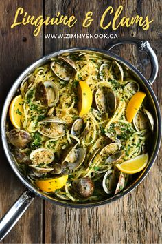 Linguine and clams (or linguine alle vongole) is a classic worth revisiting, over and over! Simple, inexpensive ingredients, shown a little love in preparation will deliver a soul satisfying meal every time. #pastarecipe #clams #easypasta #linguinerecipes @HestanCulinary @HestanHome Linguine Recipes, Pasta Recipes, Linguine And Clams, Little Neck Clams, How To Cook Pasta, Bon Appetit, Trust, Stuffed Peppers
