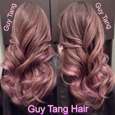 blush champagne rose hair colour - Google Search