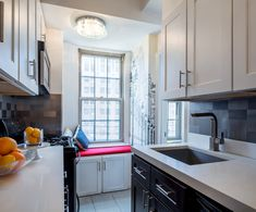 This week's properties are in Midtown South, Harlem and Bedford-Stuyvesant, Brooklyn. Bedford Stuyvesant, Galley Kitchens, New York City, Brooklyn, Kitchen Cabinets, Home Decor, Kitchen Cupboards, Homemade Home Decor, New York