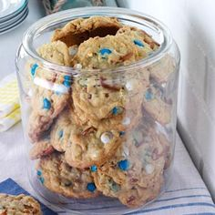 Loaded-Up Pretzel Cookies Recipe from Taste of Home -- shared by Jackie Ruckwardt of Cottage Grove, Oregon