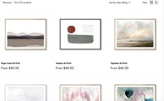 Framed Art, Framed Prints, Art Prints, Devon England, Home Studio, Love Painting, Art Store, Home Staging, Modern House Design