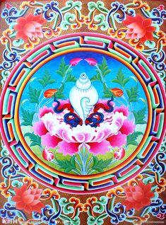Chinese Buddhism, Buddha Buddhism, Buddha Art, Tibetan Buddhism, Tibetan Mandala, Tibetan Art, Nepal Art, Vajrayana Buddhism, Buddhist Symbols