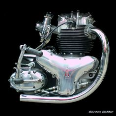 NO 34: CLASSIC BSA A10 SUPER ROCKET MOTORCYCLE ENGINE | Flickr - Photo Sharing!