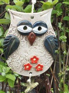 Terrific Snap Shots clay pottery owl Ideas 🖤owls-rock-rule💚so cute💗💗💗💗💗💗 Clay Owl, Clay Birds, Ceramic Owl, Ceramic Clay, Ceramic Pottery, Polymer Clay Kunst, Polymer Clay Animals, Clay Art Projects, Polymer Clay Projects