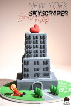 Skyscraper Birthday Cake Architecture Birthday Party