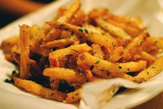 Fries with truffles =O
