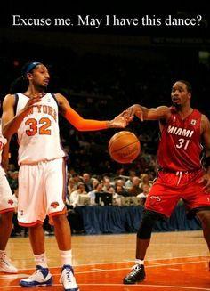 basketball players' dance!