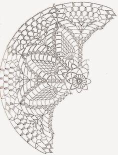 Crochet Art: Crochet Pattern Of Pillow Lace Cover