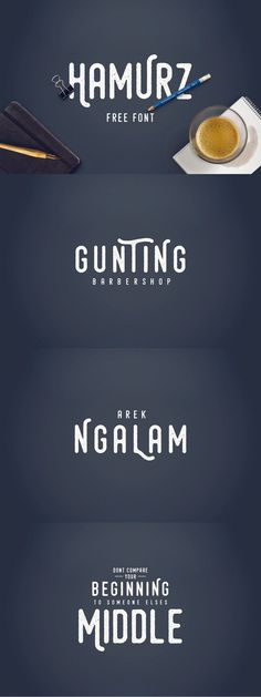 Hamurz Free Font by Bagus Budiyanto