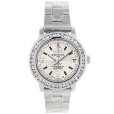 Breitling Aeromarine Diamond Bezel Watch Lady Luxury Breitling.