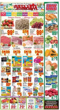 Vallarta Weekly Ad Flyer September 14 - 20, 2016 - http://www.olcatalog.com/grocery/vallarta-weekly-ad-fleyer.html