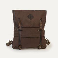 Coursier backpack - Brown - Bleu de chauffe
