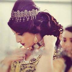 bijoux traditionnels de la mariée algérienne