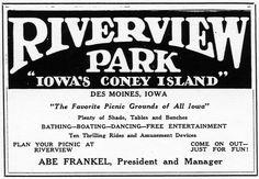 Riverview Amusement Park, Des Moines IA
