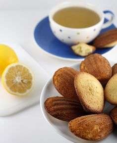 Lemon Madeleines:recipe with  ingredients really easy to find!!!