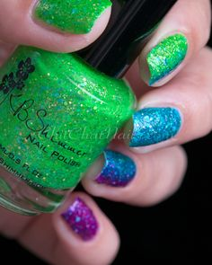 KBShimmer Partners in Lime, She Twerks Out and  Too Pop To Handle