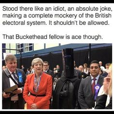 #jc4pm #ge2017 #lordbuckethead