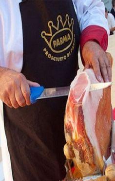 Parma: Prosciutto di Parma. Parma Italy. >> Scopri le Offerte!