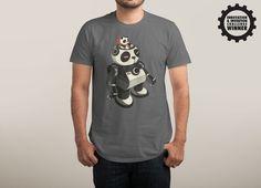MECHA PANDA T-Shirt - Robot T-Shirt