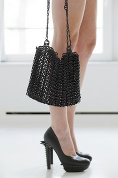 3d printed purse.Join the 3D Printing Conversation: http://www.fuelyourproductdesign.com/