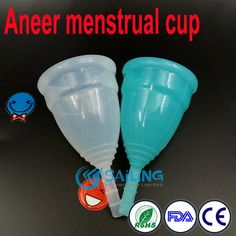 100pcs/lot health care menstrual cup medical silicone coupe menstruelle diva period cup woman lady cup feminine hygiene products
