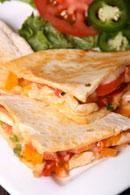 FitnFoodie.com - Recipe - Chicken Quesadillas Recipe