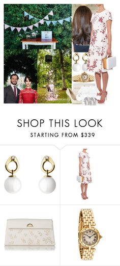 """""""Royal Crossover; Attending the Gender Reveal Party of Princess Louise and Prince Carl Philip at Rosendal Palace"""" by maryofscotland ❤ liked on Polyvore featuring Georg Jensen, MaxMara, L.K.Bennett and Sergio Rossi"""