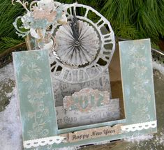 Stair Step New Year Card by ShellyHickox - Cards and Paper Crafts at Splitcoaststampers