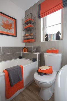 Bathroom Design Packages In 2019 Orange Bathrooms Orange Bathroom Decor Packages Bathroom Ideas Kerala Great Bathroom Decor Packages Around Bathroom Remodel Gre Orange Bathrooms Designs, Grey Bathrooms, Beautiful Bathrooms, White Bathroom, Master Bathroom, Orange Bathroom Decor, Bathroom Ideas, Orange Bathroom Accessories, Bathroom Organization