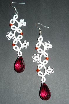 TATTED EARRINGS - Cercei PARADISE (15 LEI la saraslittleshop.breslo.ro)
