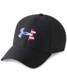 Under Armour Men s Logo Hat - Black M L a14e16433d27