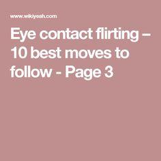 flirting moves that work body language worksheets pdf 2017 18