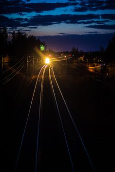 One photo a day (75) - 6 May 2012    http://fineartamerica.com/featured/the-night-train-matti-ollikainen.html  http://www.redbubble.com/people/mattiollikainen/works/8818107-the-night-train  http://www.flickr.com/photos/mazahito/7001353036/in/photostream  http://500px.com/photo/32315629