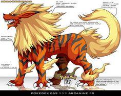 Pokedex 059 - Arcanine FR by Pokemon-FR #Pokemon