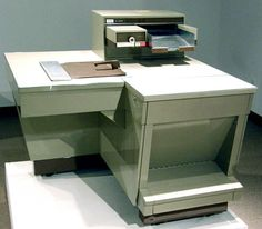 The first copy machine was intented in 1959 and was originally called Xerographic office photocopyer which was created by Xeron. It was used to make copies of documents and visual images.