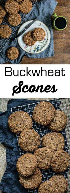 buckwheat scones {gluten-free} | 1BigBite