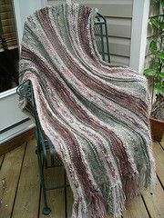 Ravelry: Absolutely Fabulous Throw pattern by Peggy MacKenzie