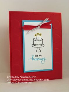 Did You Stamp Today?: Basic Birthday  Uses: Endless Birthday Wishes, Stampin' Up!, SU