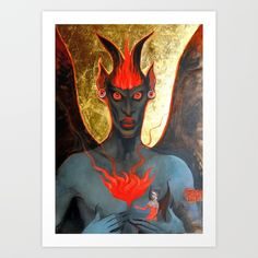 Devil Guardian by Fosco Culto @Society6.com
