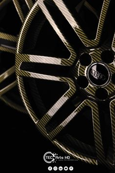 "Hydrodipping sur jantes 20"" gold carbon Vespa, Rolls Royce, Alloy Wheel, Gold, Wasp, Hornet, Vespas, Yellow"