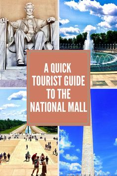 One of Washington D.C.'s most well-known tourist attractions, here's a quick tourist guide to the National Mall for the quickest and best experience possible!