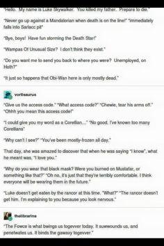 Star Wars and Princess Bride crossover