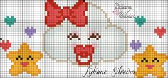 This Pin was discovered by Zeh Loom Beading, Beading Patterns, Embroidery Patterns, Cross Stitching, Cross Stitch Embroidery, Cross Stitch Patterns, X Picture, Cross Stitch Baby, C2c
