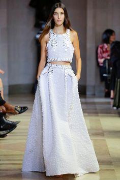 Sfilata Carolina Herrera New York - Collezioni Primavera Estate 2016 - Vogue