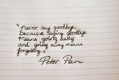 Peter Pan amazing